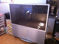 55 inch projection TV in perfect condition