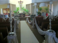 CHURCH, PARTY, HOME EVENT DECOR - RENTAL ALSO AVAILABLE