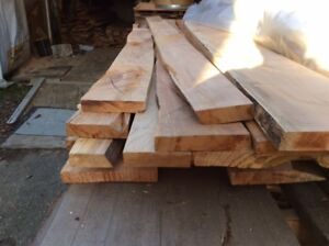 Spalted Maple Kiln Dried Planed 1 1/4 inch x8-10 ftLx 6-12 inchW