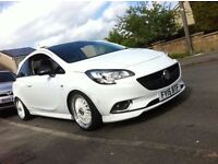 "White BBS RS DEEP DISH REPLICA BRAND NEW ALLOY WHEELS 16"" EXTRA WIDE 4 STUD VAUXHALL CORSA POLO FIT"