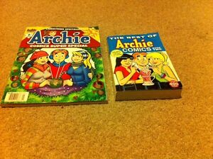 CHISTMAS SPECIAL Archie comic +The BEST of Archie
