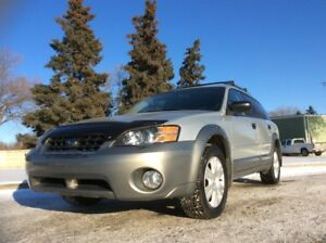 2005 Subaru Legacy, OUTBACK, XT-PKG, 5/SPD, AWD, LOADED, CLEAN!