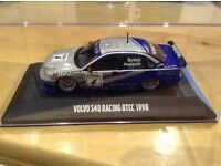 VOLVO S40 BRITISH TOURING CARS 1998 - COLLECTIBLE MODEL - 1/43 - RARE COLLECTIBLE