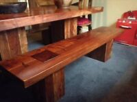 Acaia Dining room benches (2) Reid Furniture