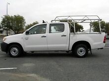 2006 Toyota Hilux MY05 Workmate White 5 Speed Manual Dual Cab Gosnells Gosnells Area Preview