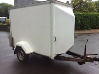 indespension tow a van box trailer will consider part ex or swap for a small van combo,doblo size