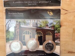 Harpers Ferry 25 cents collection