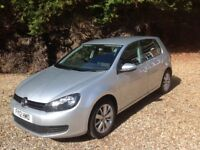 VW Golf 1.6 TDI Match, Bluetech 5 Door hatchback, low mileage, superb condition, one owner from new.
