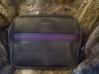 Brand New With Tags TED BAKER Leather Bag Satchel - Black - Collect from Guildford GU1