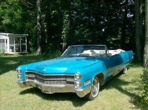 Ride in style this summer Vintage convertable Cadillac 1966