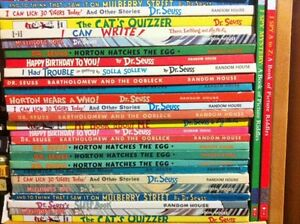 """""""Dr. Seuss"""" Oversized Books - 27 to choose from - $5 each."""