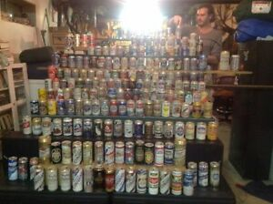 Antique Beer Can collection