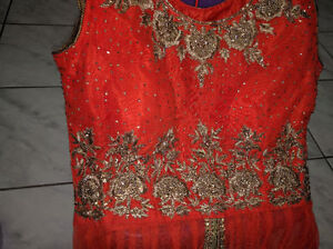 Fully Stitched Embroidered Lehenga for Party,Wedding or Sangeet