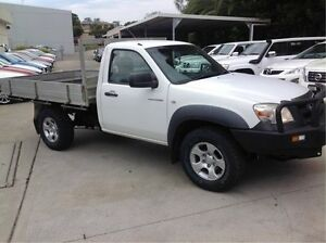 2011 Mazda BT-50 DX White 5 Speed Manual Cab Chassis East Maitland Maitland Area Preview