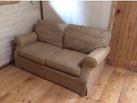 Laura Ashley, Double Sofa Bed, Beige