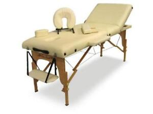 "5"" Pad Portable Massage Table 3 Section SPA Bed / massage table"