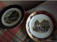 Two Decorative Weatherby Royal Falcon Plates
