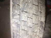 Large selection of 215/75/17.5 tyres for 7.5 tonne truck