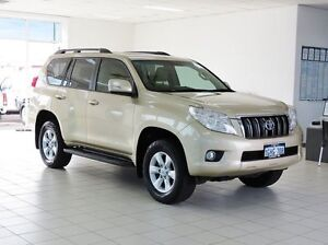 2012 Toyota Landcruiser Prado GRJ150R 11 Upgrade GXL (4x4) Sandstone 5 Speed Sequential Auto Wagon Morley Bayswater Area Preview