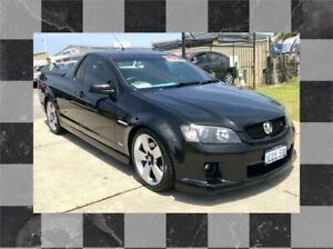 2009 Holden Commodore VE MY09.5 SS-V Black 6 Speed Manual Utility Wangara Wanneroo Area Preview