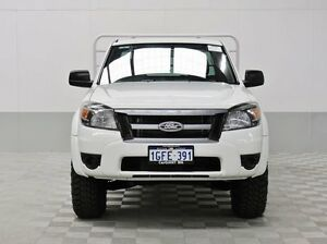 2011 Ford Ranger PK XL (4x4) White 5 Speed Manual Super Cab Pick-up Jandakot Cockburn Area Preview