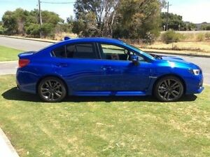 2016 Subaru WRX V1 MY16 AWD Blue 6 Speed Manual Sedan Mandurah Mandurah Area Preview