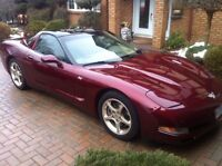 2003 chev corvette 50th Anniversary removable roof