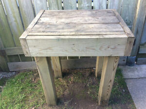 """Garden Work Table / Work Stand 27""""L, 21""""W, 30""""H, AVAILABLE"""