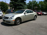 2005 Infiniti G35 Auto Loaded Leather Roof Coupe (2 door)