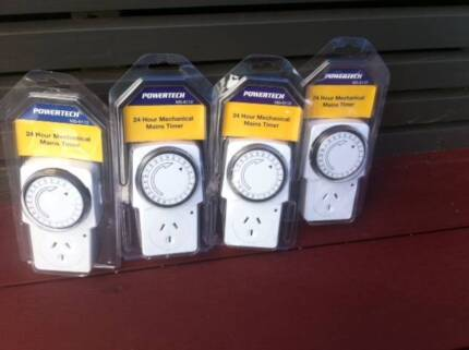 Four Powertech 24 Hour Mechanical Mains Timer-MS-6112 Balgowlah Manly Area Preview