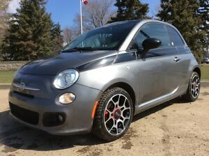 2012 Fiat 500, EDIZIONE 388, 5/SPD, LEATHER, ROOF, 88K, $7,500
