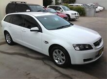 2010 Holden Commodore VE MY10 Omega Sportwagon White 6 Speed Sports Automatic Wagon East Maitland Maitland Area Preview
