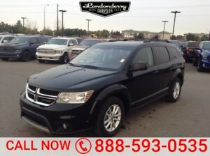 2015 Dodge Journey SXT 7 PASSENGER Accident Free,  3rd Row,  A/C