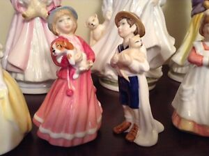 ROYAL DOULTON FIGURINES $ 25.-