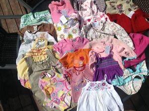 lot de vêtements fille 6 mois-12 mois-18 mois-24 mois 2 ans
