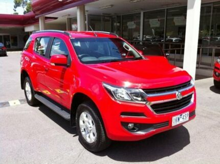 2017 Holden Trailblazer RG MY17 LT Red 6 Speed Sports Automatic Wagon