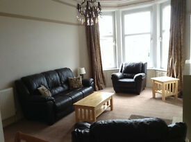 Furnished 2 bedroom flat in Shawlands