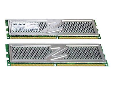 OCZ Platinum Edition 4GB (2x 2GB) 240-Pin DDR2 SDRAM DDR2 800 (PC2 6400)