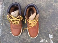 Groundwork Men's Adult Safety Boots - Size 6