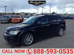 2013 Dodge Journey AWD RT Accident Free,  Rear DVD,  Leather,  H