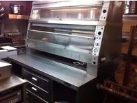 COMMERCIAL CATERING HENNY PENNY STYLE HEATED FOOD WARMER CUISINE DINING RESTAURANTS BARS CAFES FOOD