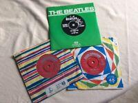 Vinyl singles including Beatles