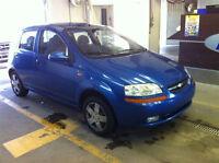 2004 Chevrolet Aveo 5 AUTOMATIQUE PAS DE ROUILLE GAR 1 AN**