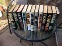 Set of 12 Andy McNab Hardback Books