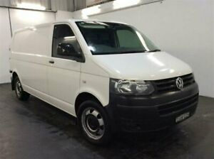 2015 Volkswagen Transporter T5 MY15 TDI 400 LWB High White 7 Speed Auto Direct Shift Van Cardiff Lake Macquarie Area Preview