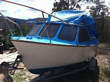 Cuddy cab runabout. Cygnet Huon Valley Preview