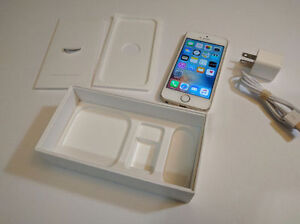 Apple iPhone 5S 16GB Premium Gold  locked with BELL