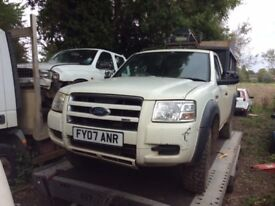 2007 Ford ranger tdci 4x4 tailgate - breaking whole vehicle for parts spares