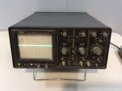 Protek P-2020 20 Mhz Oscilloscope Testing Equipment Analyzer