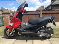 2009 Gilera runner ST 125 4 stroke Bargain to be had, Read ADD watch youtube link, bargain. mint